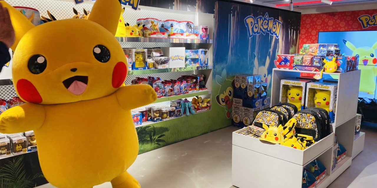 Pokèmon Pops Up in Harrods