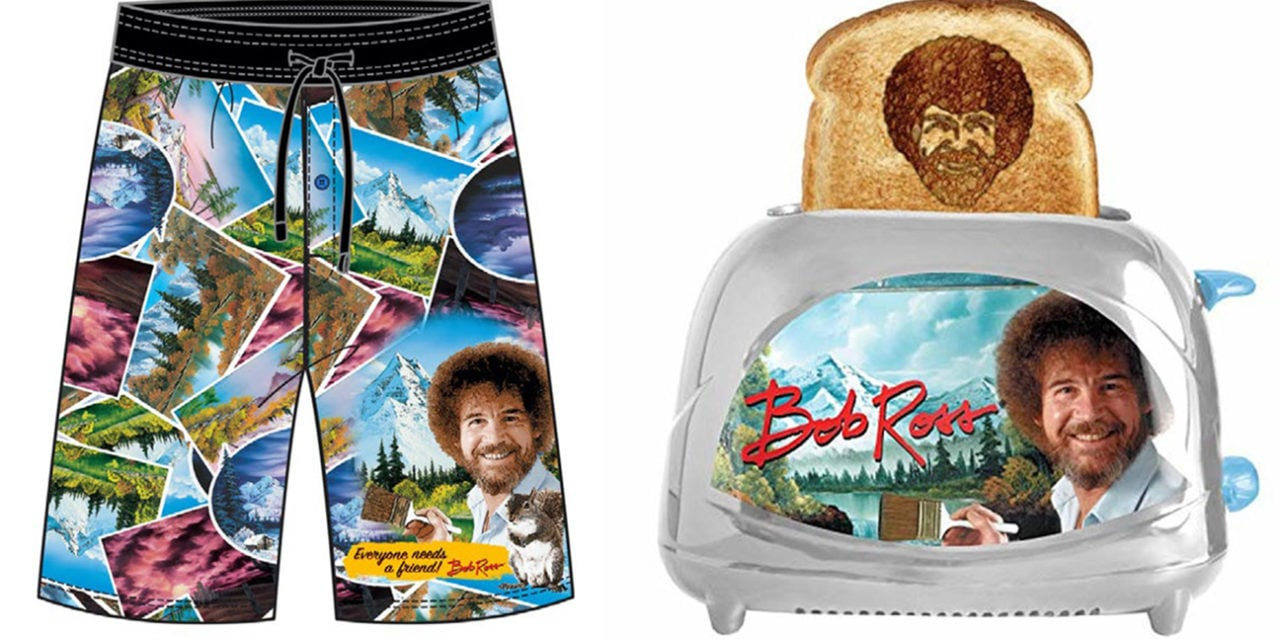 New Licenses for Bob Ross