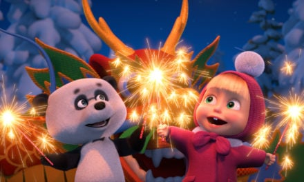 Masha and the Bear on TV in China for the First Time