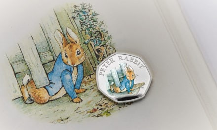 New Peter Rabbit commemorative coins