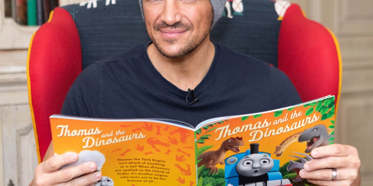 Celebrity Fathers Team-up for Thomas the Tank Engine