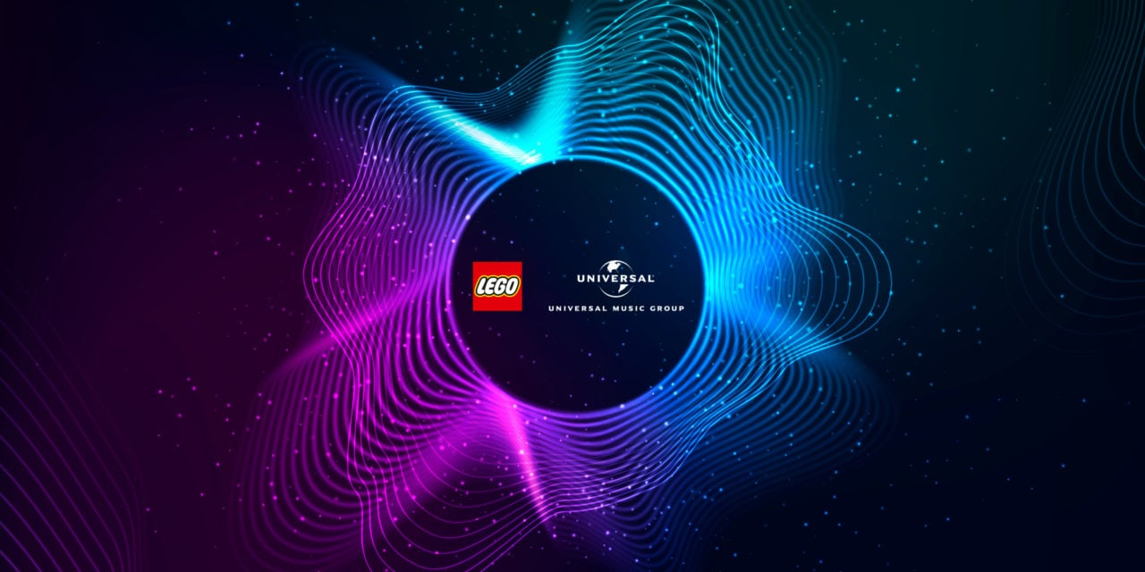 Lego Group and Universal Music Join in Creative Partnership