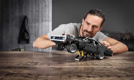 Lego Technic Goes Full Throttle with Fast & Furious