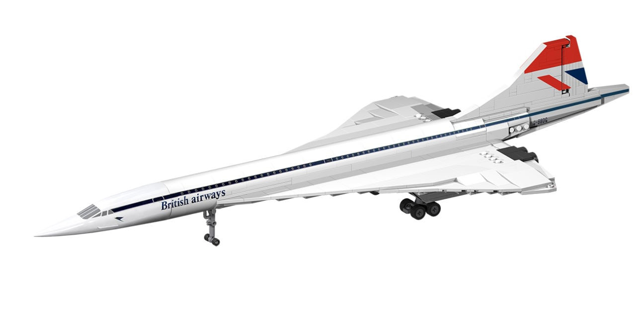 Concorde Model Launched