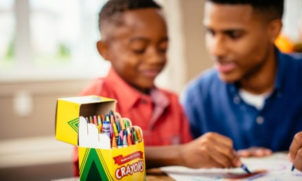 Crayola develop an At Home Creative Hub