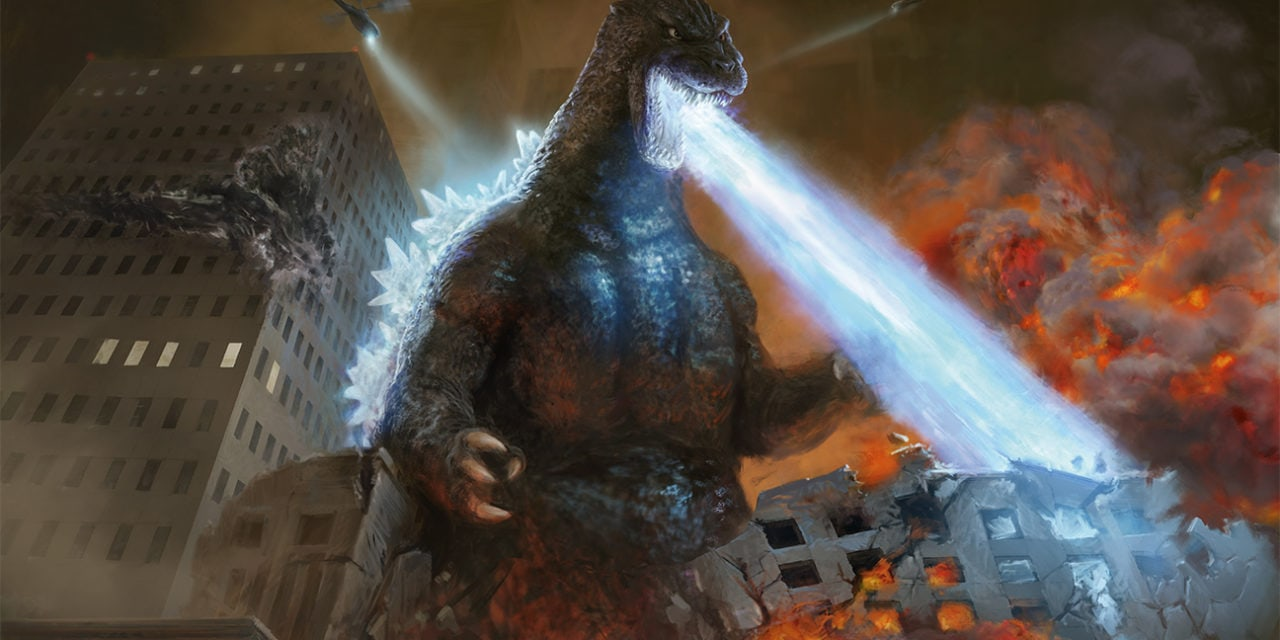 Godzilla and Magic: The Gathering