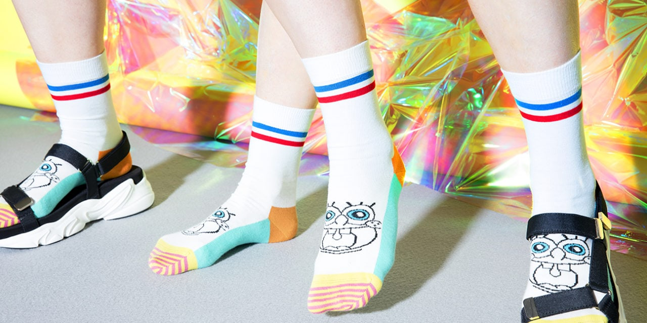 Happy Socks debut SpongeBob collection