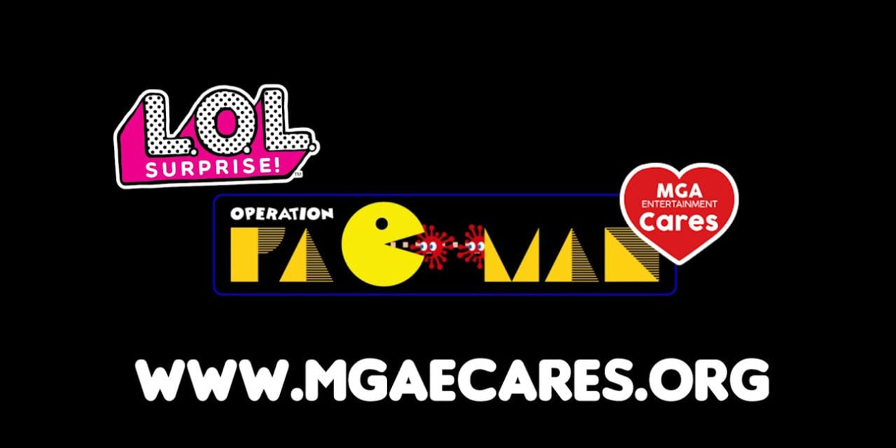 MGA Debut L.O.L Surprise x Operation Pac-Man range