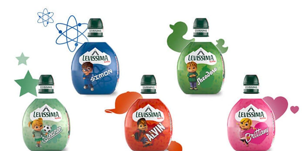 ALVINNN! Water Bottles in Italy