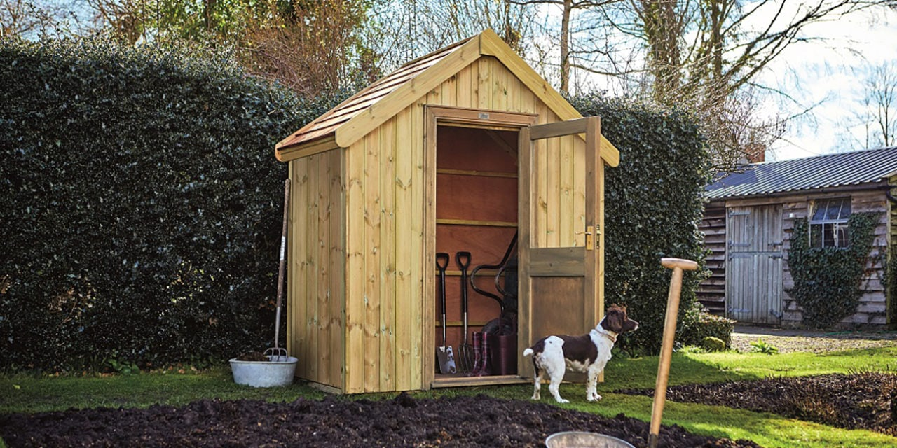 RHS Endorse Line of Sheds
