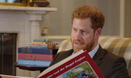 Duke of Sussex introduces a new Thomas and Friends story