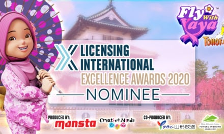 CGI Travel Show Fly With Yaya Tohoku Nominated for International Licensing Awards 2020