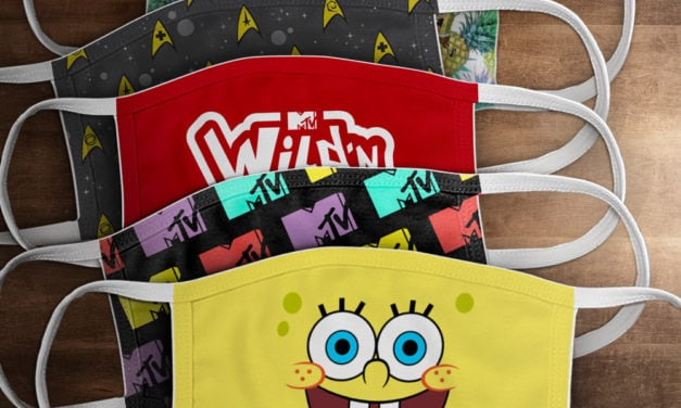 VIACOMCBS CONSUMER PRODUCTS LAUNCHES GLOBAL REUSABLE FACE MASKS FEATURING ICONIC NICKELODEON CHARACTERS