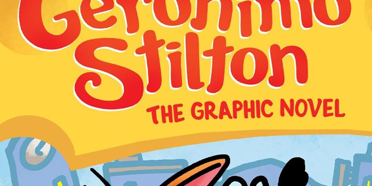 Graphic Novel launch for Geronimo Stilton