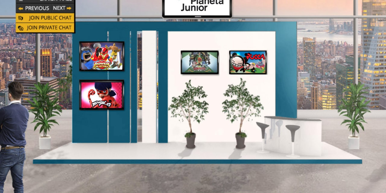 Planeta Junior Launches its First Virtual Stand at Licensing Week