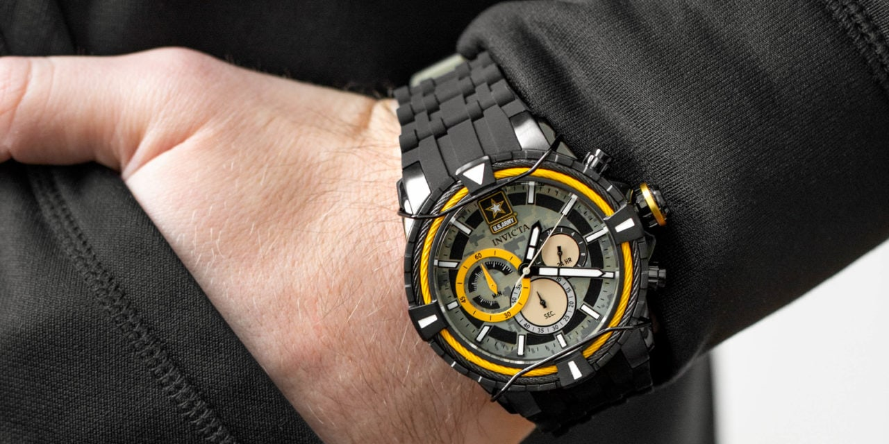 Invicta Watch to Launch U.S. Army Line