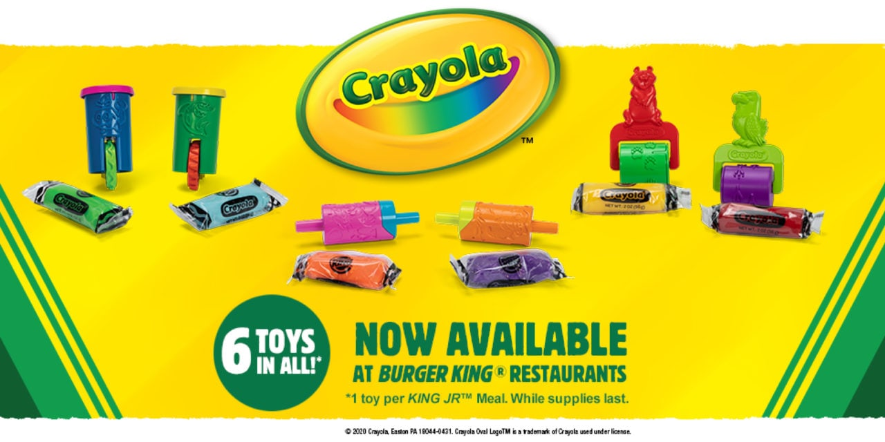 Burger King Partners with Crayola