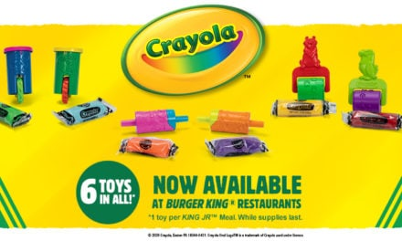 Burger King Partners with Crayola