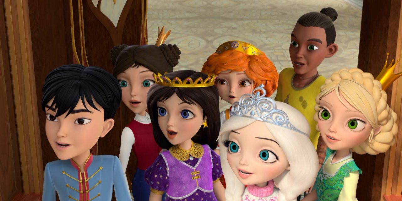 Animation Little Tiaras from Russia Promotes Racial Diversity