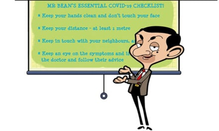 Mr Bean to give Covid-19 Advice!