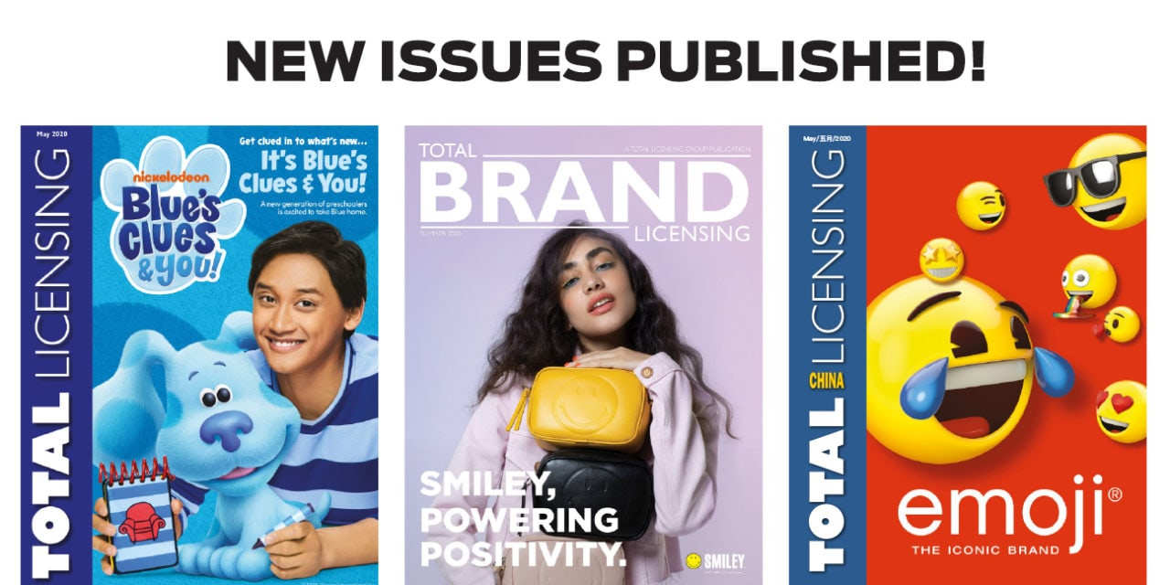 New issues of Total Licensing, Total Brand Licensing and Total Licensing China