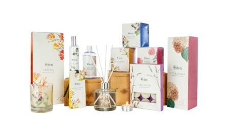 RHS announces Wax Lyrical Fragrant Garden range