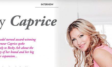 Exclusive Interview: Caprice Talks Brand Longevity