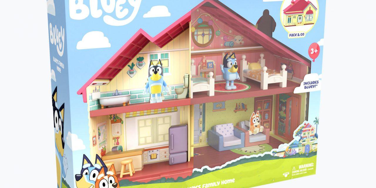 Australian Phenomenon Hit Bluey Launches Toys in the U.S.