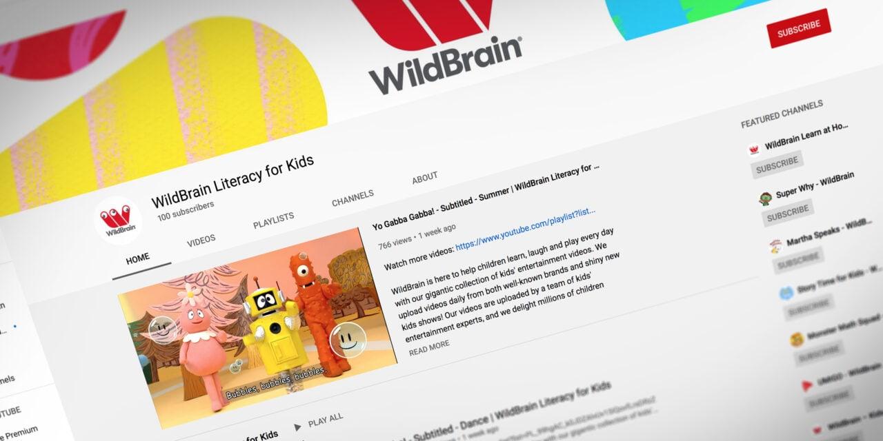 WildBrain Spark Supporting Literacy in Kids