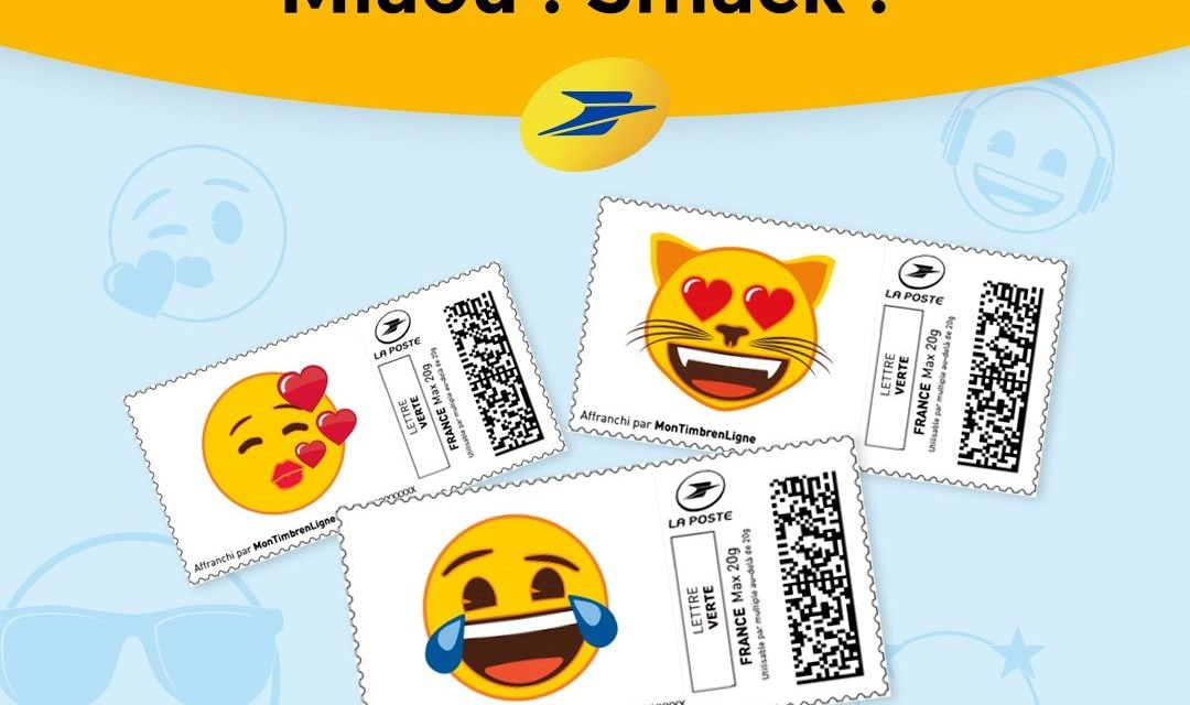 La Poste and emoji Brand renew their partnership!