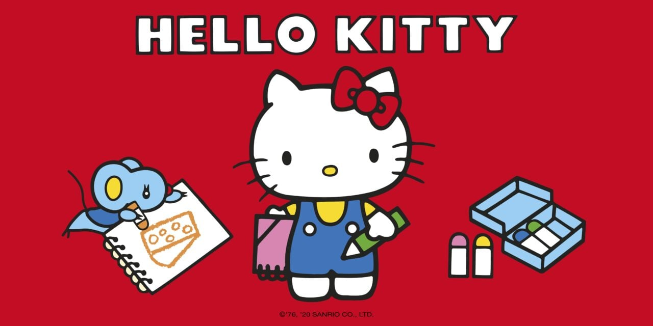 Sanrio to launch new Hello Kitty publishing programme with Egmont