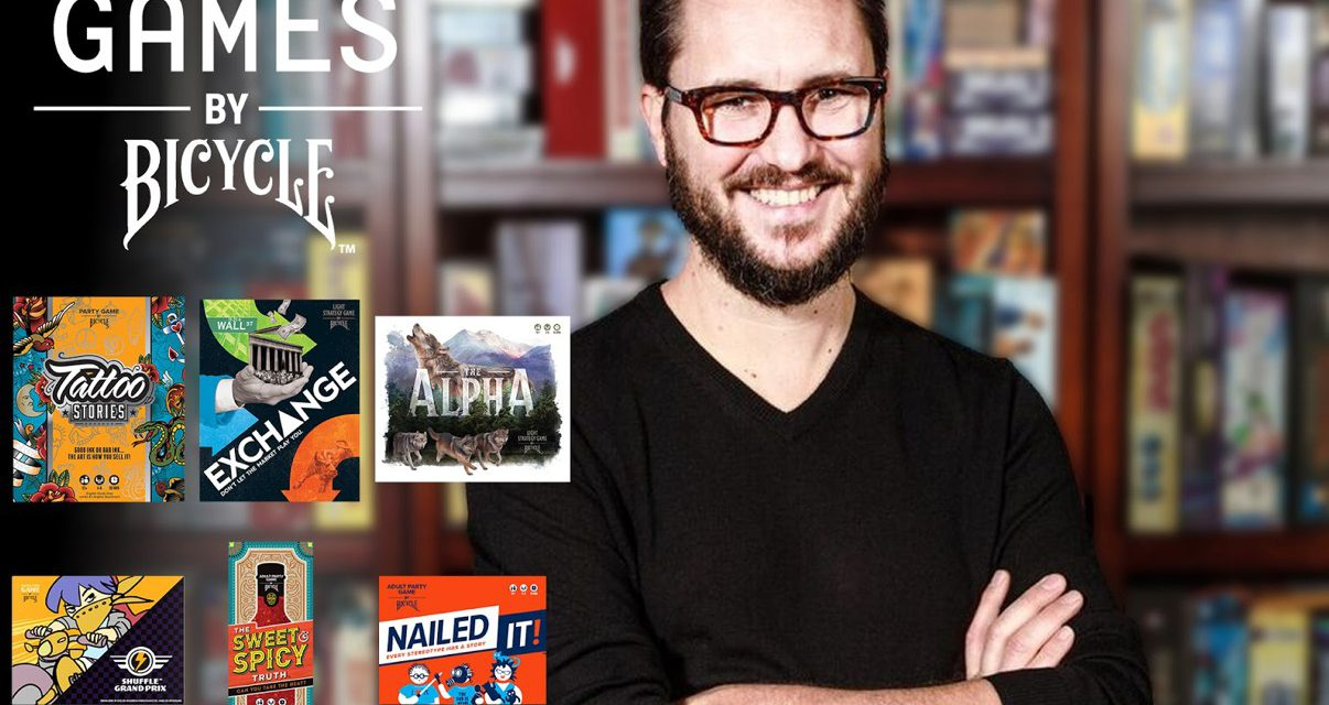 Wil Wheaton Announced As Games By Bicycle Global Board Game Ambassador