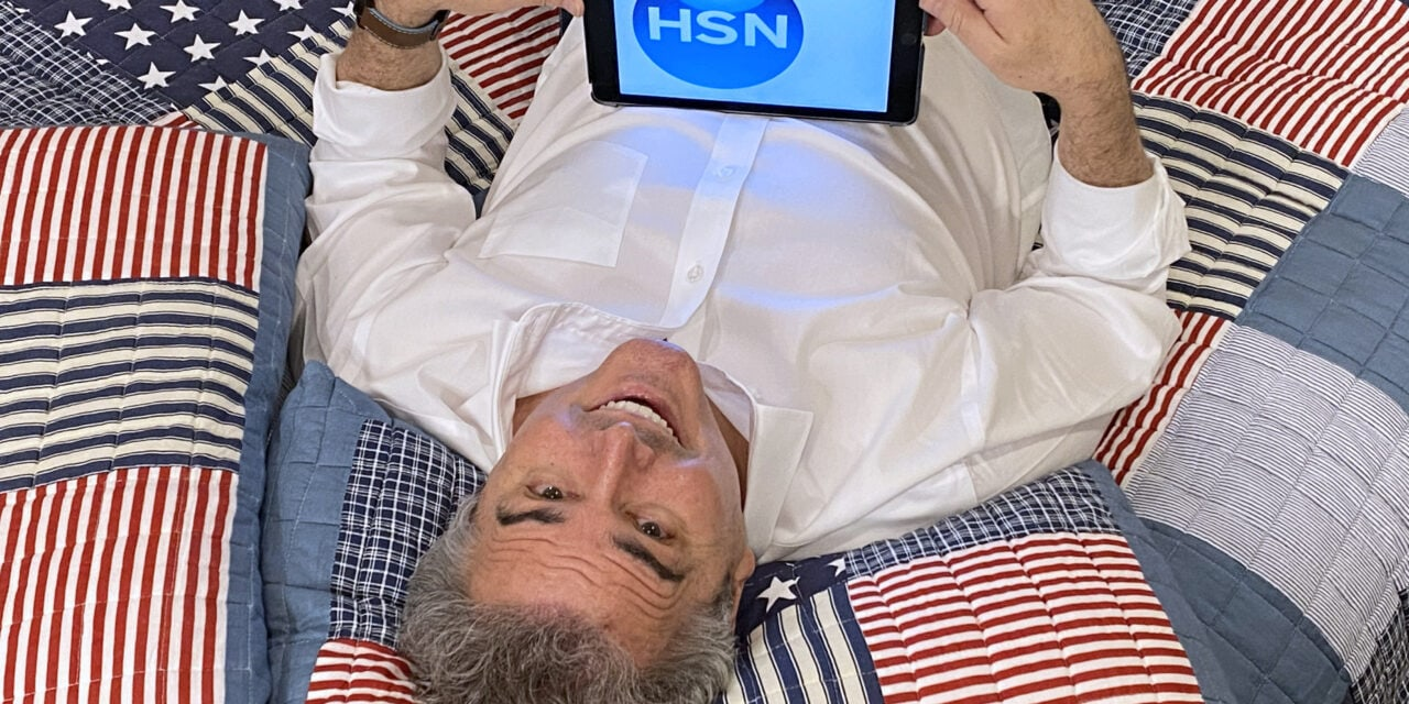 Christopher Knight Makes HSN Debut
