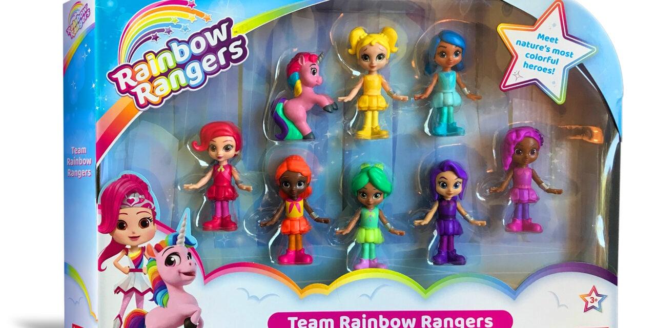 Rainbow Rangers Make Walmart & Amazon Debut