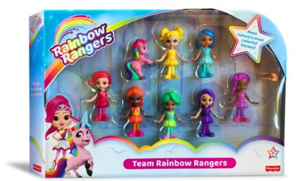 Rainbow Rangers Make Walmart & Amazon Debut