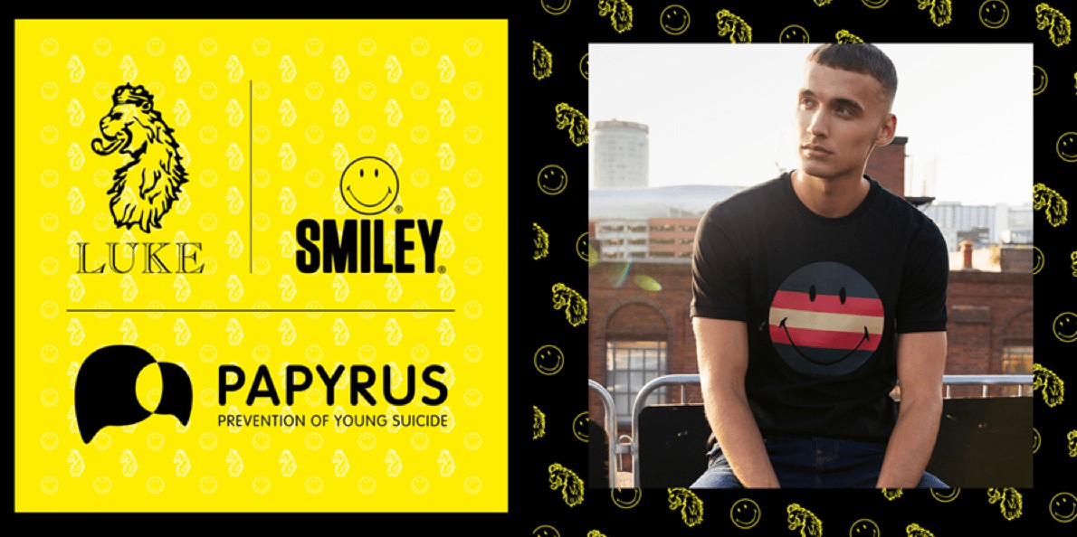Smiley Teams Up With Luke 1977 On Summer Launch To Raise Money For Charity Papyrus