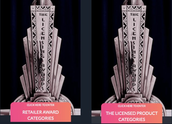 14 August Deadline Approaching for Entries in The UK Licensing Awards 2020