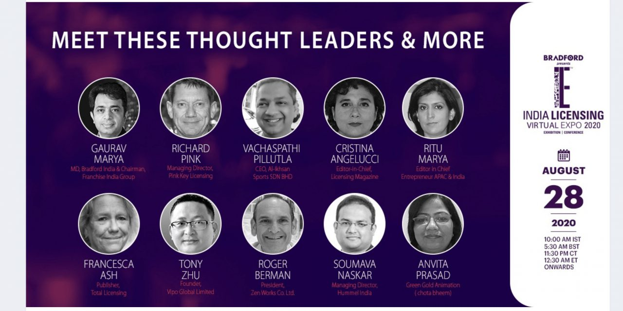 MEET THE EXPERTS AT INDIA LICENSING EXPO 2020 VIRTUAL
