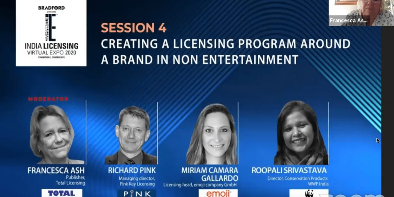 Watch: India Licensing Expo Virtual:  Creating a licensing program around a brand in non-entertainment
