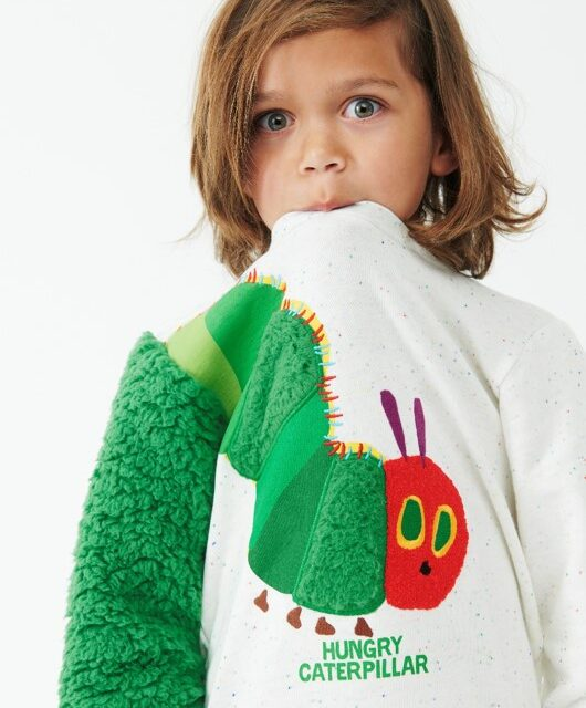 VERY HUNGRY CATERPILLAR TAKES A BITE OUT OF PETER ALEXANDER