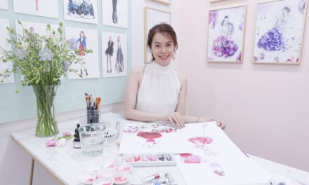 The Brand Liaison to Represent Luxury Floral Illustrator Grace Ciao