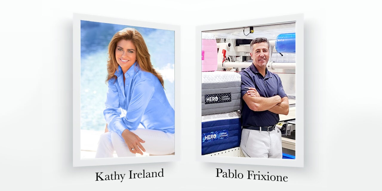 kathy ireland Worldwide Partners with HERO Bed