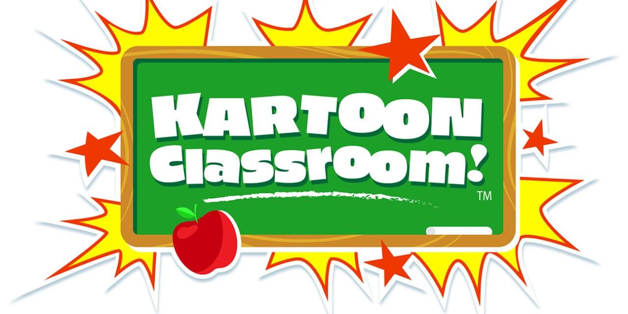 GENIUS ANNOUNCES LAUNCH OF KARTOON CLASSROOM!