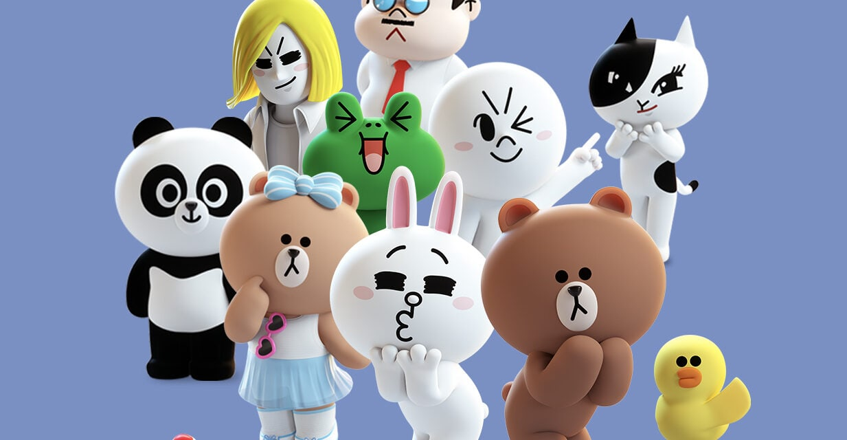 New European Partners for Line Friends