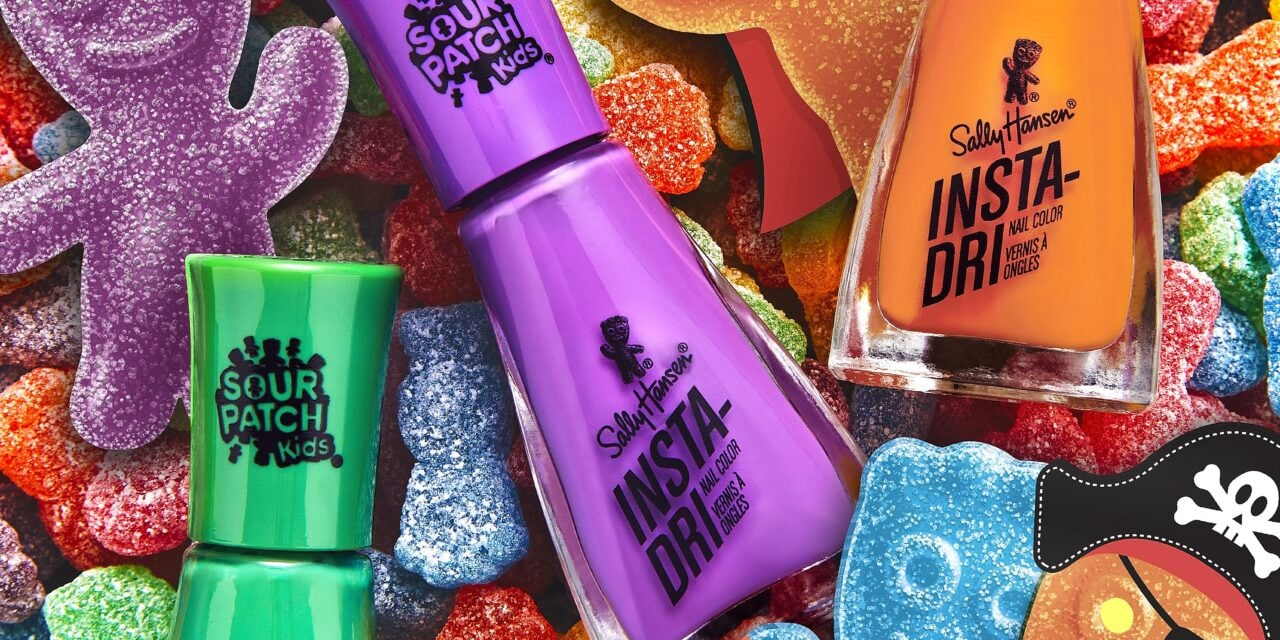 Sally Hansen partners with Sour Patch Kids