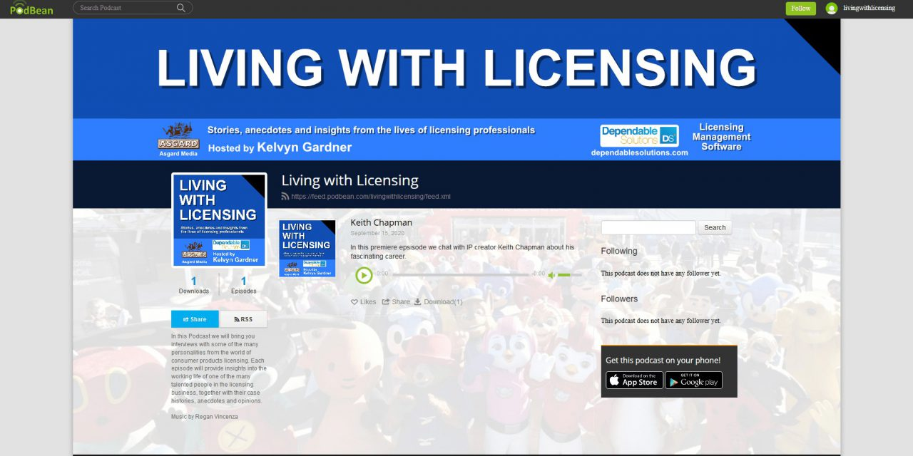 Asgard Media to launch Living with Licensing Podcast