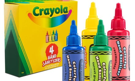 Crayola Hand sanitizers Ready to Clean