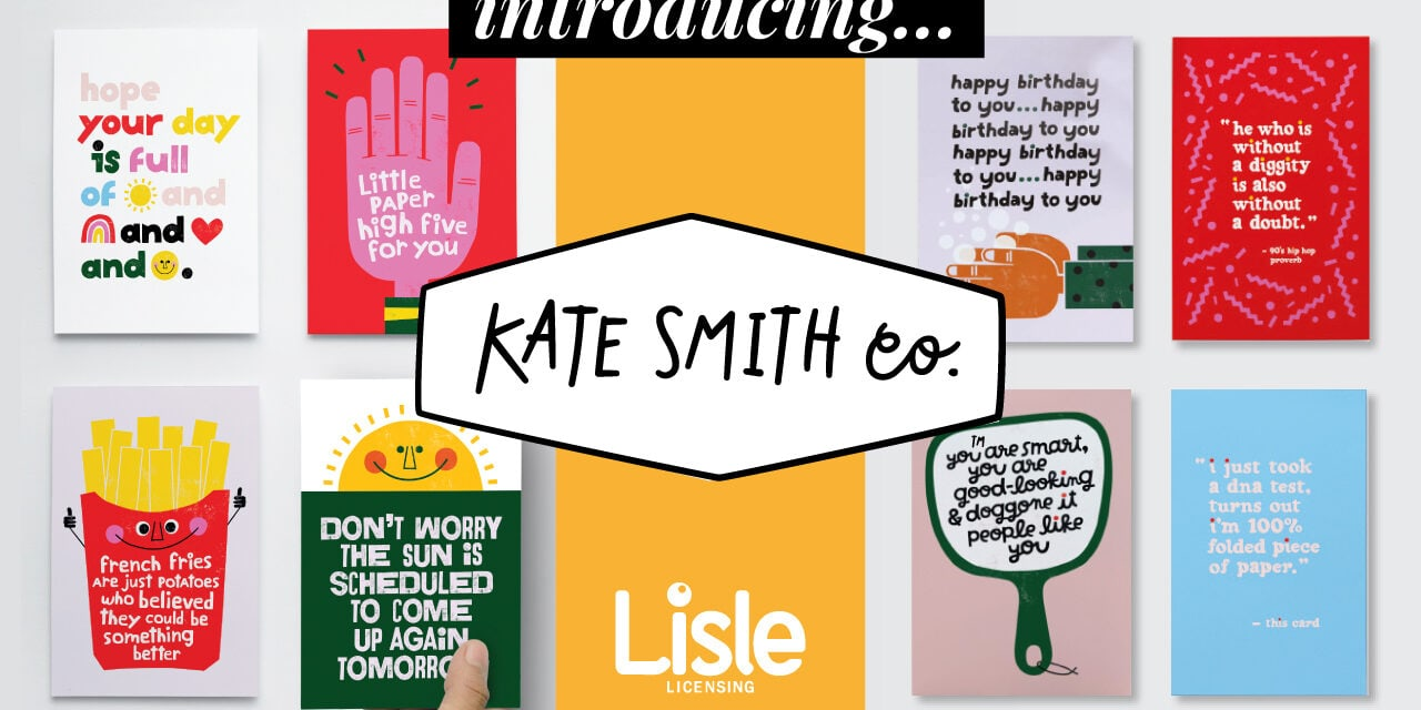 Lisle Licensing Signs with Kate Smith Company