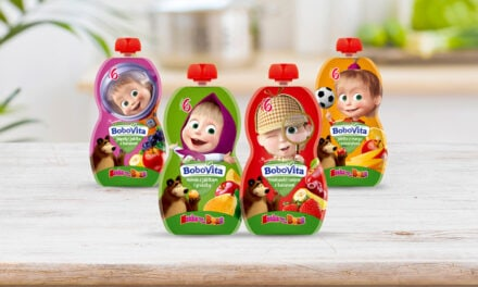 Danone Introduces new Masha fruit pouches in Eastern Europe
