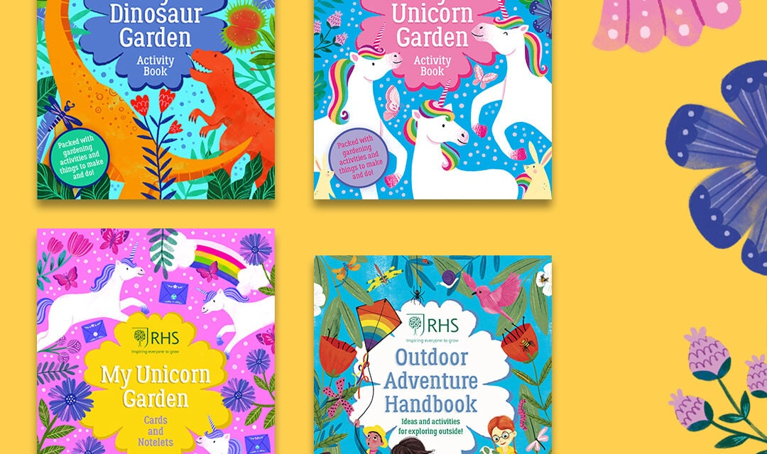 RHS and Scholastic to launch Activity Books for Children